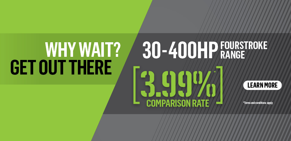 Repower now – with 3.99% Mercury Finance on FourStroke packages from 30-400hp!